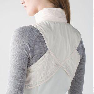 lululemon athletica Jackets & Coats - Lululemon Kanto Catch Me Vest Angel Wing/Ghost Dot